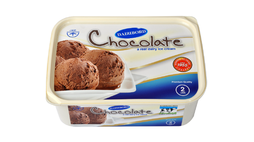 Dairibord Ice Cream 2lt Chocolate