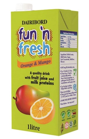 Fun n Fresh Mixed Fruit orange and mango 1l