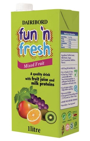 Fun n Fresh Mixed Fruit passion fruit 1l