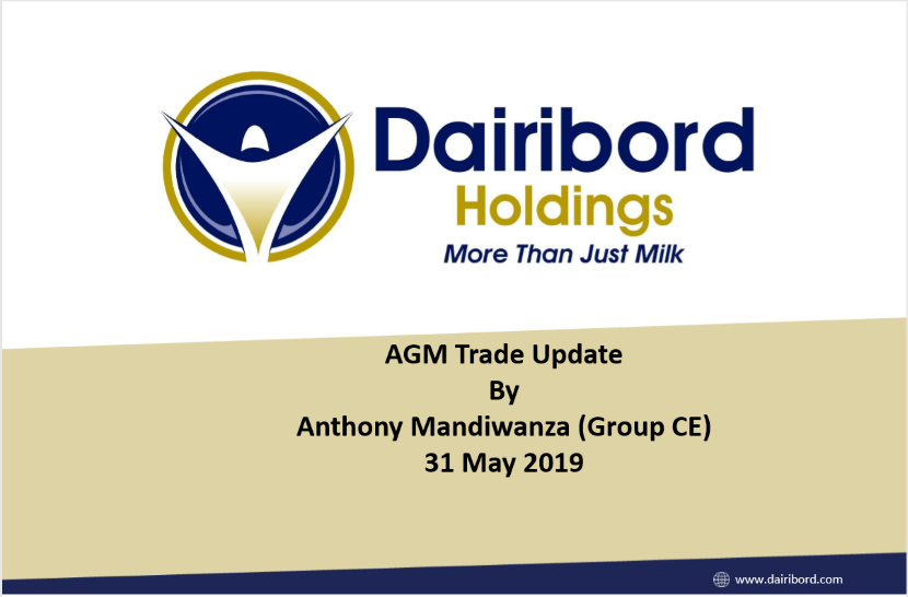 Dairibord Holdings Limited AGM Trade Update 2019